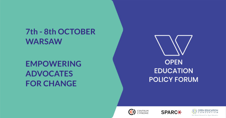 open education policy forum